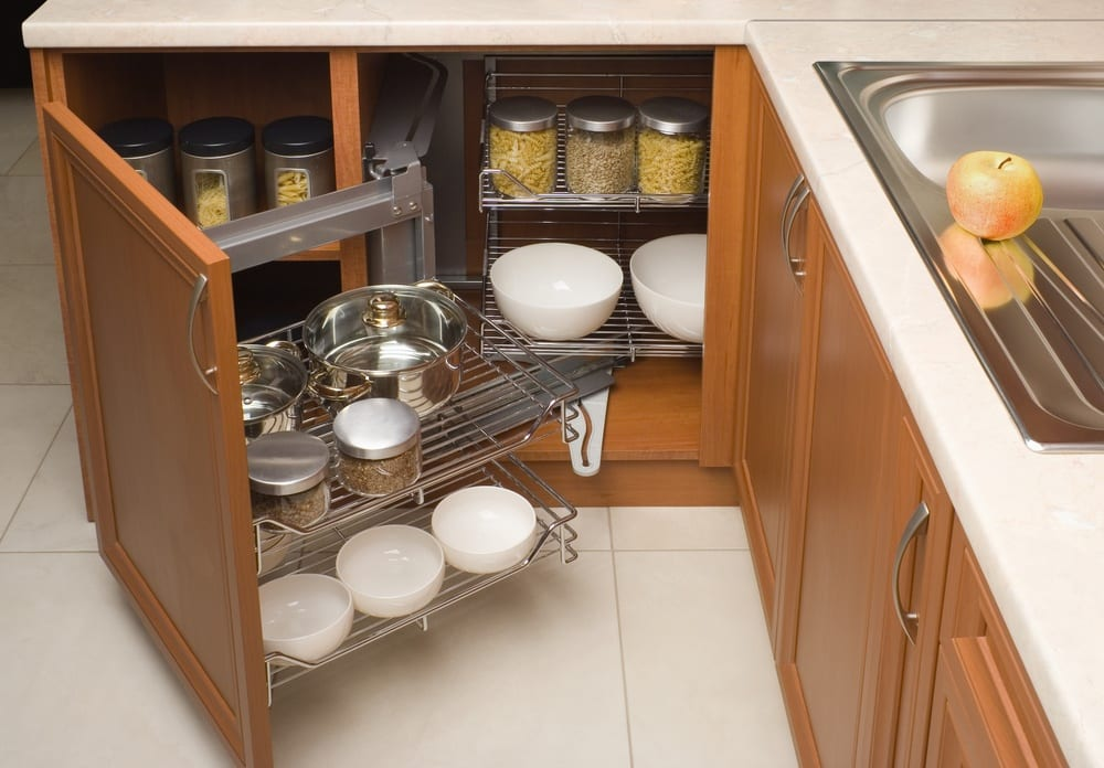 Kitchen Cabinet Pullouts